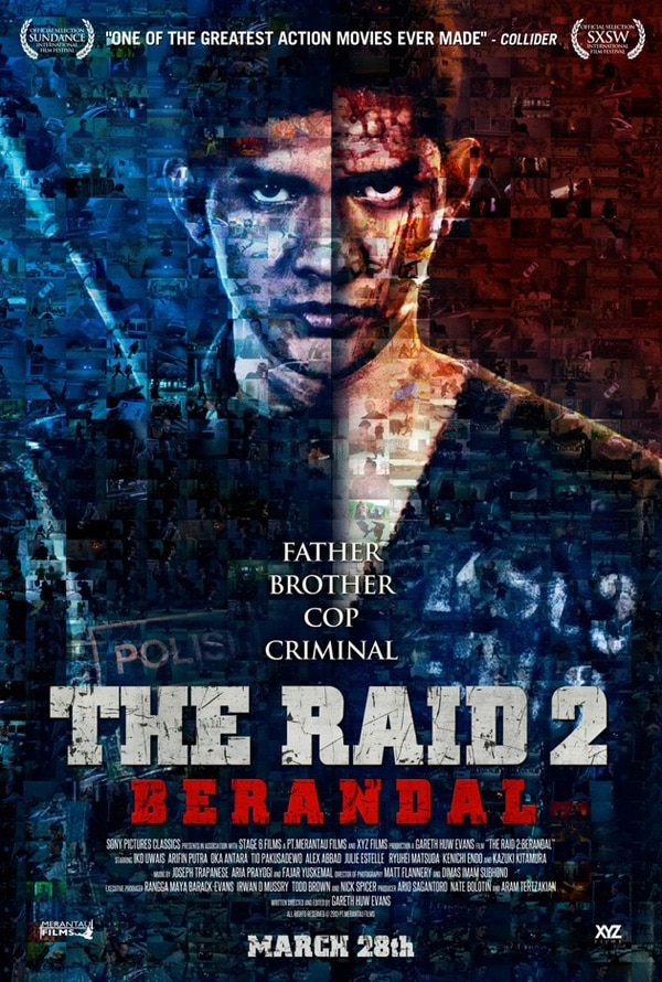 the raid 2 poster - Critically Acclaimed TV Spot Arrives for The Raid 2: Berandal