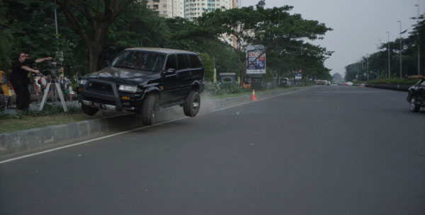 the raid truck - Two New Images Surface from The Raid 2: Berandal