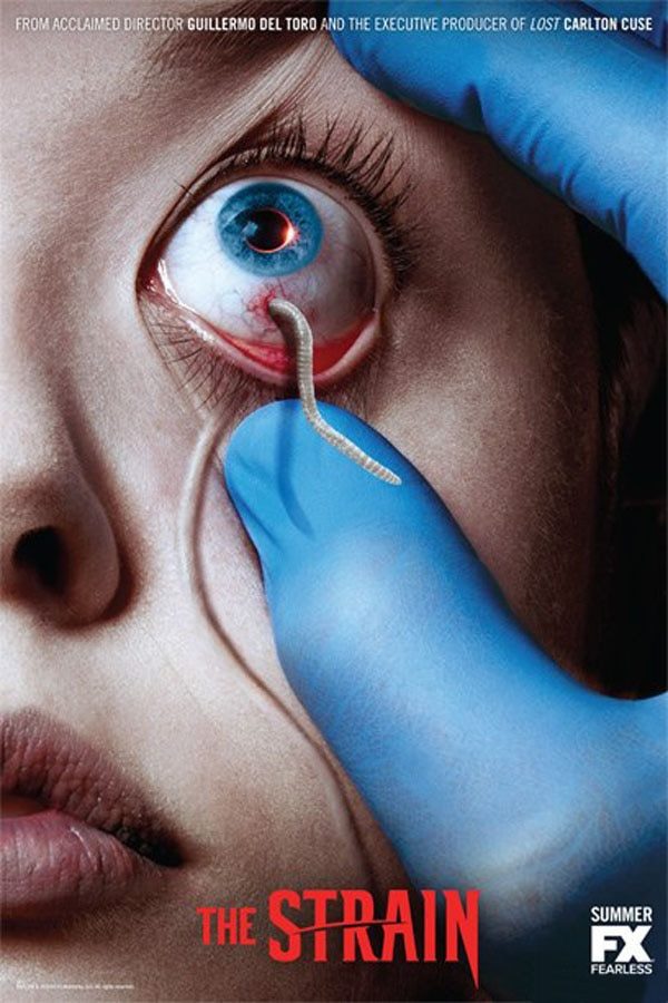 the strain - #SDCC14: App Turns You Into a Victim of The Strain