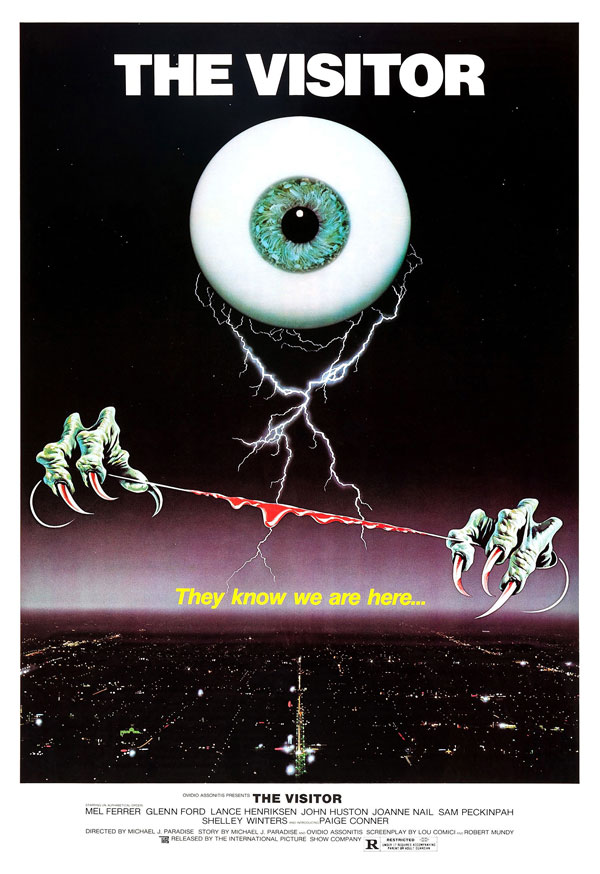the visitor poster - Drafthouse Films Acquires The Visitor