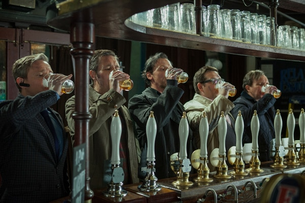Drink Up this New Still for The World's End
