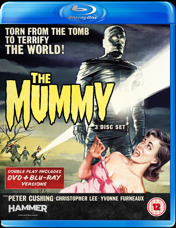 Hammer Classic The Mummy Wrapped in HD for UK
