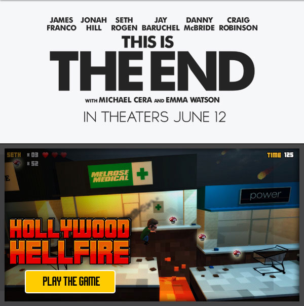 Play Your Way Through the Apocalypse with This Is the End Hollywood Hellfire