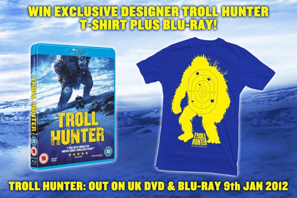 UK Readers: Join the Troll Hunter Ranks! Win a Limited Edition T-shirt and Blu-ray!