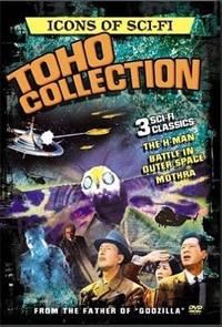Icons of Sci-Fi Toho Collection on DVD
