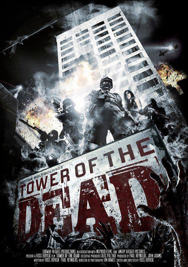 tower of the dead poster - AFM 2013: Stealth Media Group to Climb the Tower of the Dead