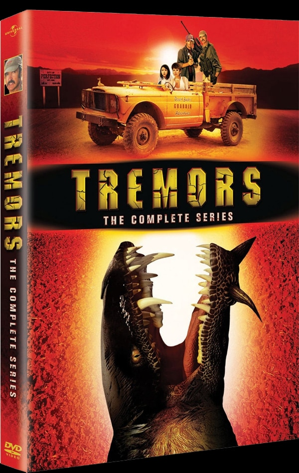 Tremors: The Series DVD Art Rumbles Your Home Video Collection