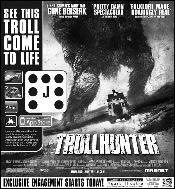 Trollhunter - Augmented Reality Brings the Beast to Life