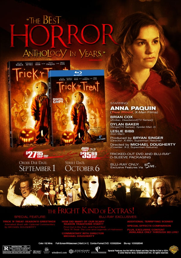 Critically Acclaimed Trick 'r Treat Trailer