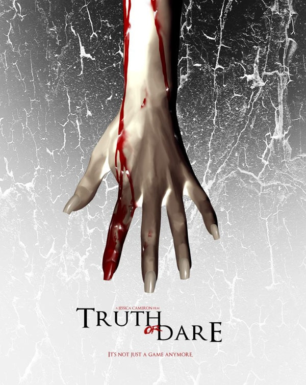 truth or dare poster - CONTEST CLOSED! Nobody Can Cool and Truth or Dare Headline Long Beach's RIP Horror Film Fest; Get Some NCC Swag Here!