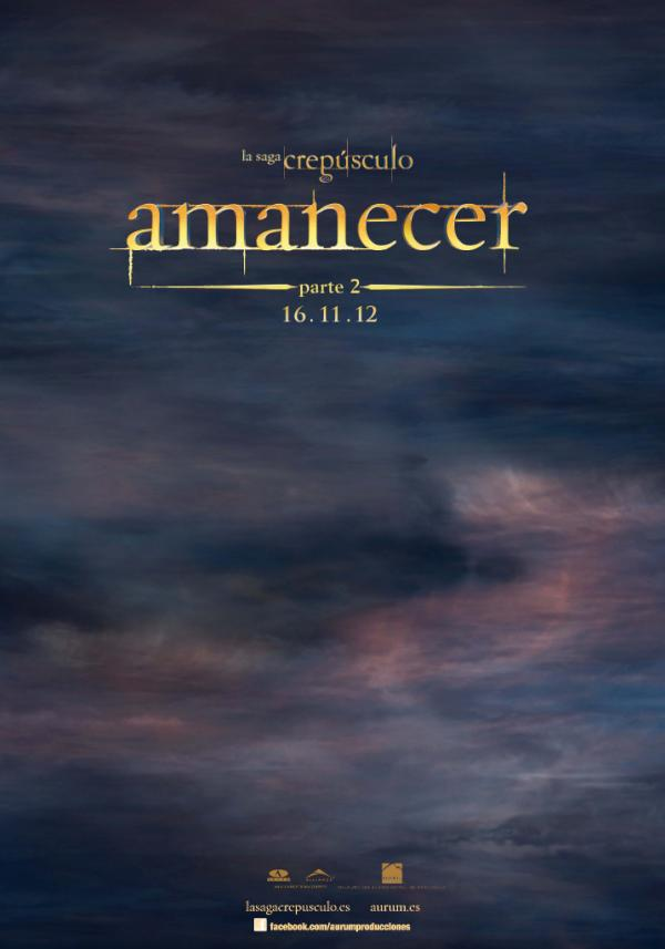 A Look at the Spanish Teaser Poster for The Twilight Saga: Breaking Dawn - Part 2