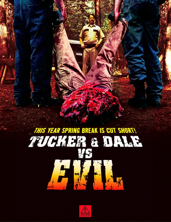 Temp Trailer and Sales Art for Tucker and Dale vs. Evil