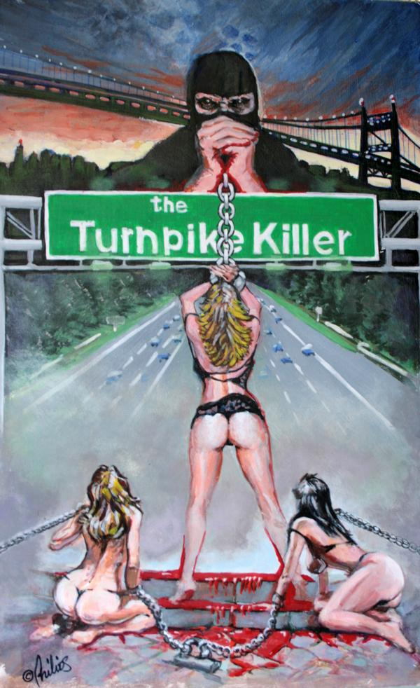 Go Retro with The Turnpike Killer DVD / VHS Combo-Pack