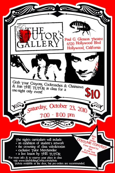 Party with The Tutor in Hollywood this October 23rd