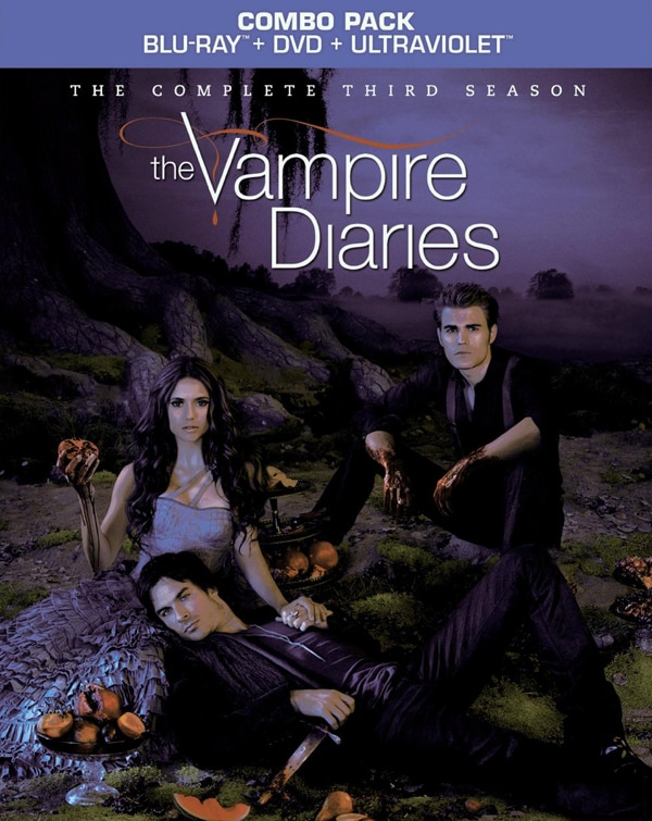 tvd3blu - Finally the Full Specs Are Here for The Vampire Diaries: The Complete Third Season Blu-ray/DVD; An Early Look at the Gag Reel