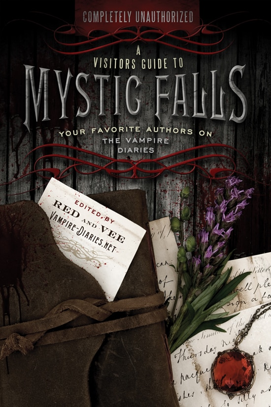 Cover Art for A Visitors Guide to Mystic Falls, Essays on The Vampire Diaries