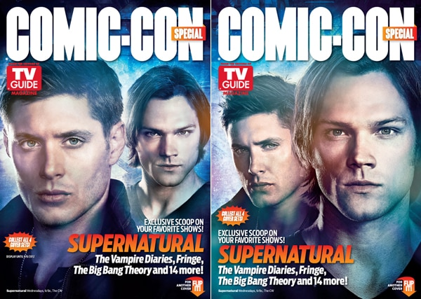 San Diego Comic-Con 2012: A Look at the Warner Bros.-Themed Special Editions of TV Guide