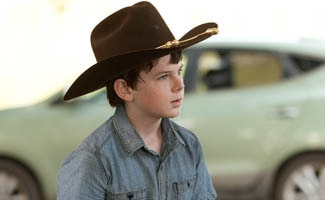Q&A with Chandler Riggs - The Walking Dead Season 2