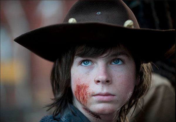 Chandler Riggs - The Walking Dead Episode 4.16 - A