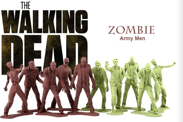 Gentle Giant Wants to Help You Build Your Own Walking Dead Zombie Army