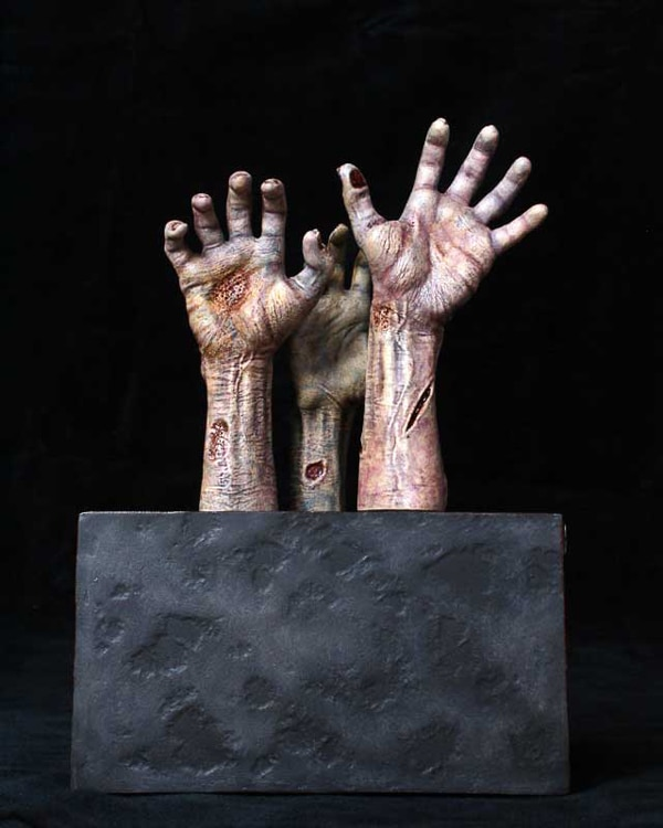 Your Grabbing Hands Will Surely Be Grabbing These The Walking Dead Bookends