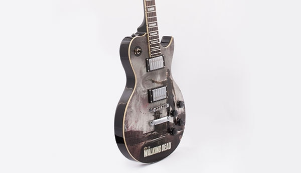 #SDCC14: Get the First Look at AMC/ASG's The Walking Dead Guitar Collection