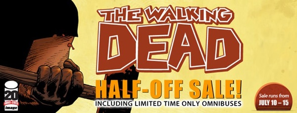 twdhalfoff - ComiXology Announces The Walking Dead Half-Off Sale July 10–15