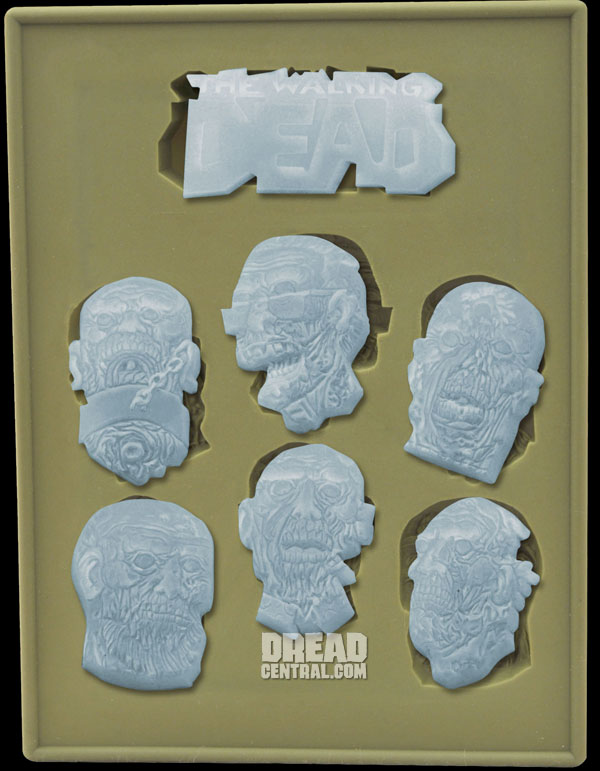 Get an Early Look at New Walking Dead Merchandise from Diamond Select Toys Including Minimates Series 5 and Another Silicone Ice Tray