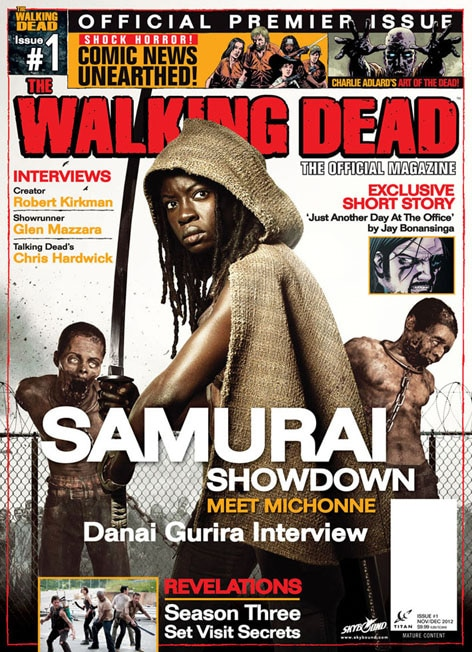 The Walking Dead, The Official Magazine: Issue #1 review