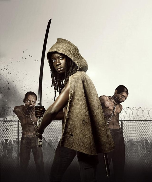 The Walking Dead: First Look at Michonne Prototype Figure