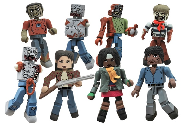 The Walking Dead Are Coming Back... for a Second Series of Minimates