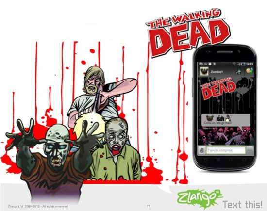 twdtext - Add Characters and Phrases from The Walking Dead to Your Mobile Messages