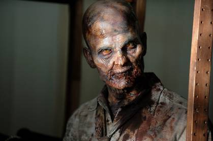 Have a Look at Two of the Zombies from The Walking Dead Season 3