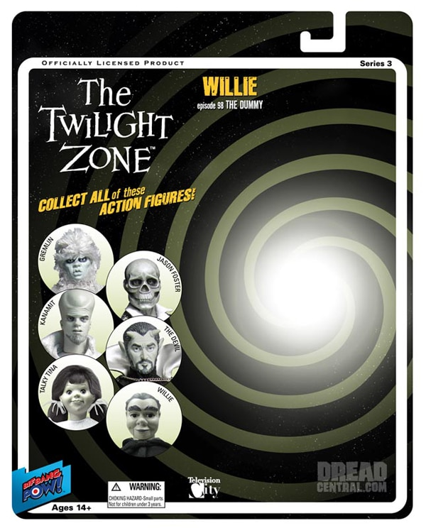 More Details on the Twilight Zone Comic-Con Exclusives and New Dexter Figures!