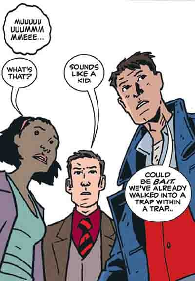 Preview of New Torchwood Comic Strip