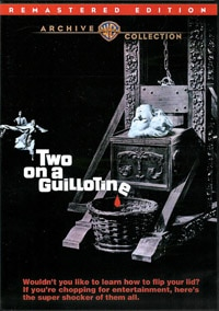 Two on a Guillotine on DVD