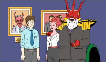 Spend Halloween in Hell with Ugly Americans