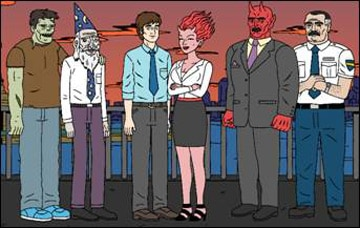 Comedy Central to Premiere Animated Horror/Comedy Ugly Americans in March
