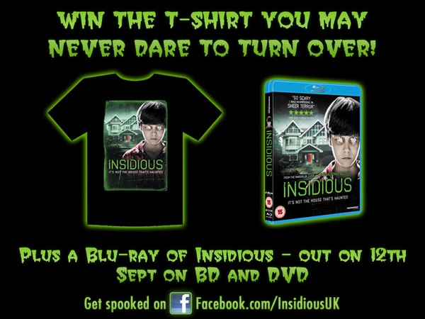 UK Readers: Win Some Insidious Prizes!