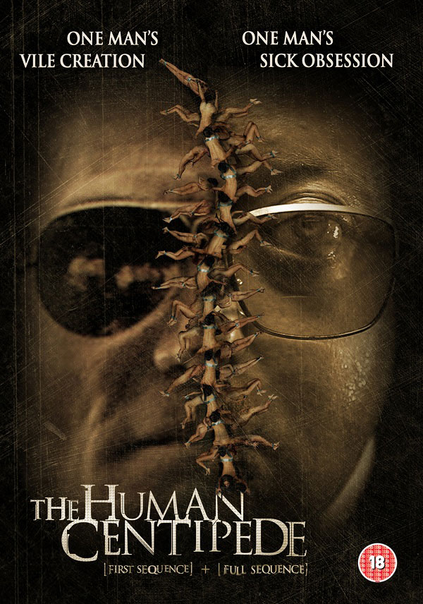 ukthc - Human Centipede 1 and 2 Stapled Together for UK Double-Pack