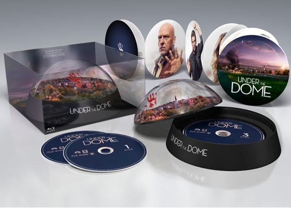 under the dome blu ray - Stephen King Responds to Under the Dome Changes; Blu-ray Box Set Packaging Leaked