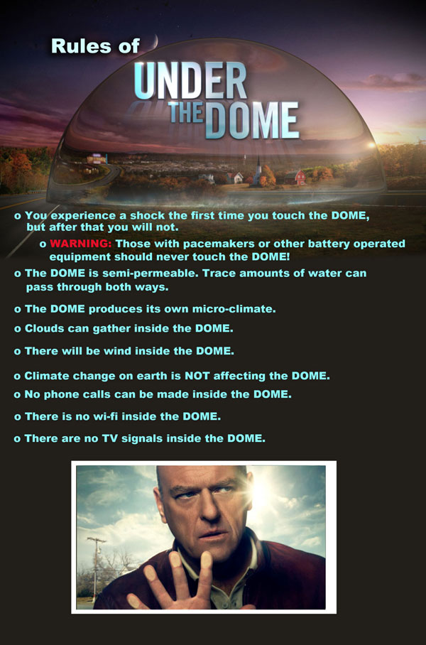 The Rules of Living Under the Dome