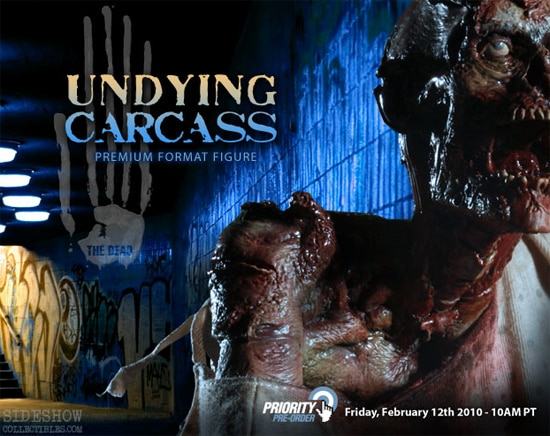 A Peek at Undying Carcass, the Next The Dead Premium Format Figure