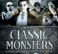 Universal Releasing a Monster Sized DVD Box Set of 30 Films!