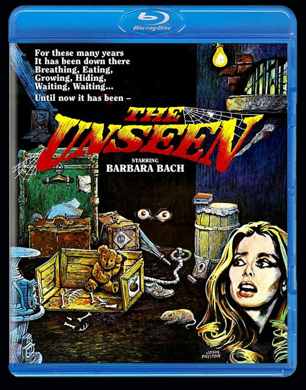 The Unseen Blu-ray