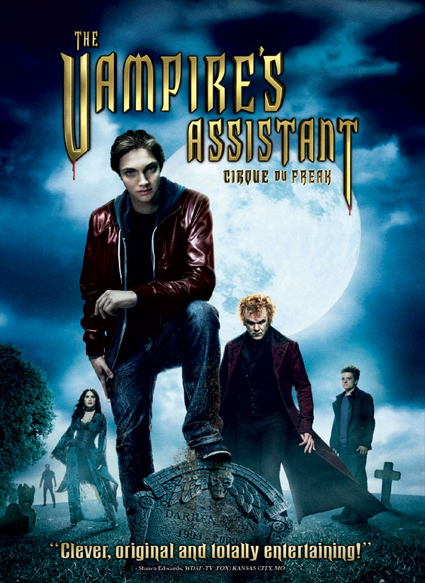 DVD and Blu-ray Art and Details: Cirque du Freak: The Vampire's Assistant