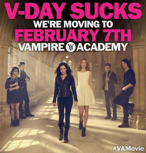 New Vampire Academy Release Date: February 7, 2014