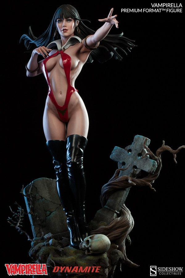 Get Bewitched by Sideshow's Vampirella Premium Format Figure