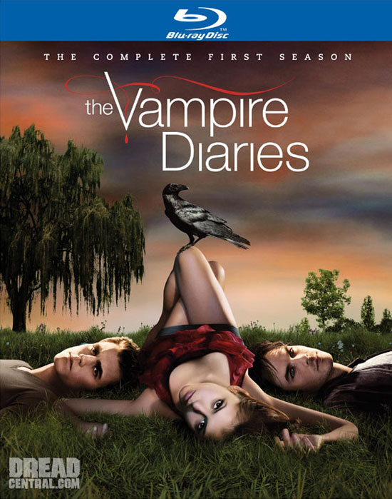 Blu-ray/DVD Specs and Cover Art for The Vampire Diaries
