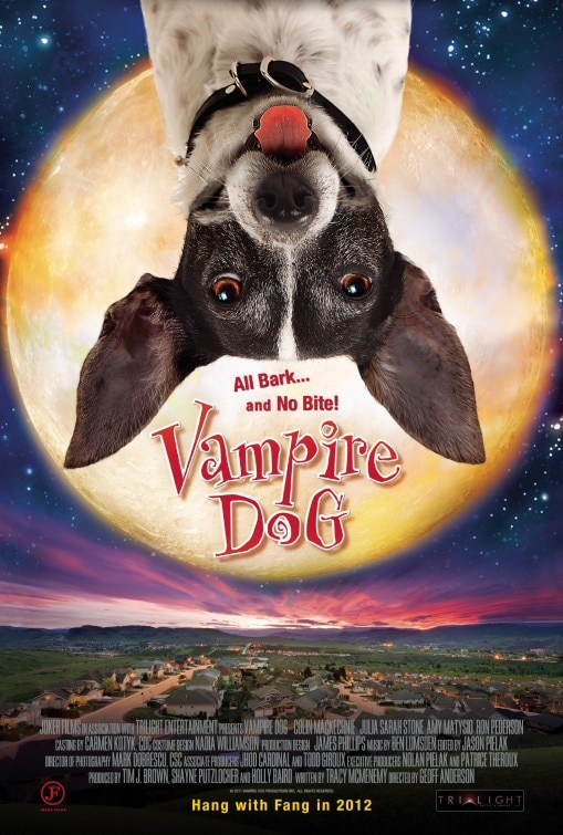 Vampire Dog Wants to Sink His Adorable Fangs in Your Neck